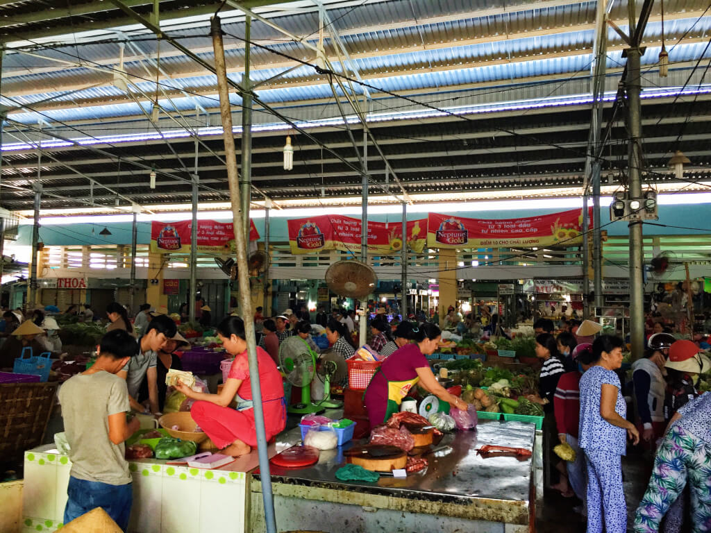 Market in Mui Ne, Vietnam - It's a Food Life