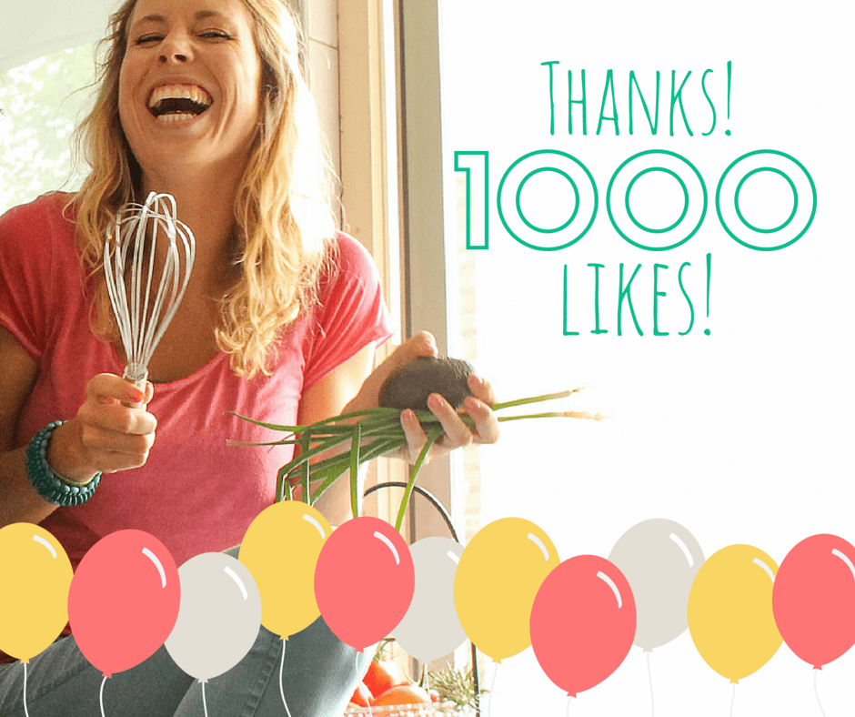 1000+ likes op facebook! | It's a Food Life
