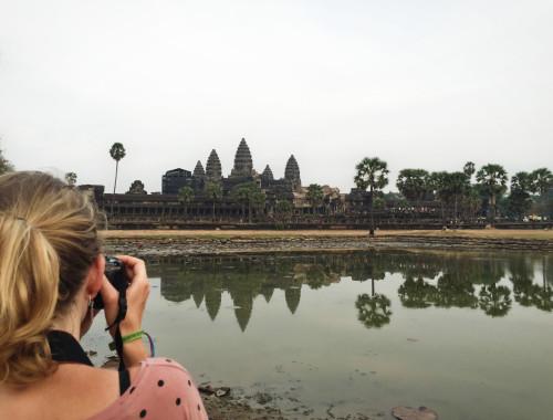 Angkor Wat in Siem Reap Cambodja - It's a Food Life