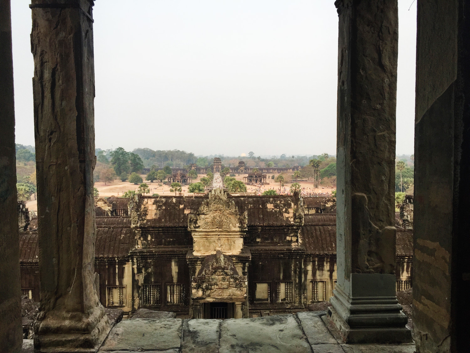 Angkor Wat in Siem Reap, Cambodja - It's a Food Life