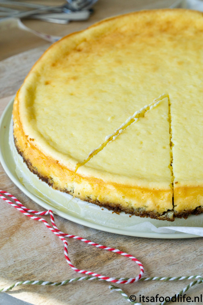 Basisrecept New York Style Cheesecake | It's a food life