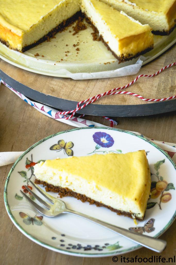 Basisrecept New York Style Cheesecake   It's a food life