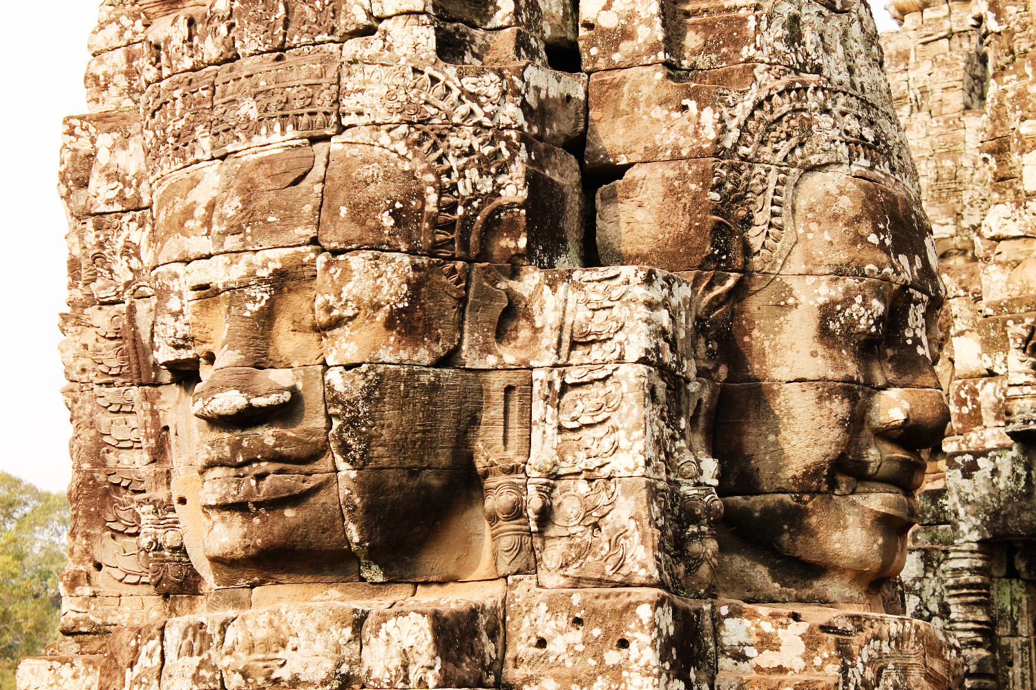 Bayon Temple in Angkor, Cambodja - It's a Food Life