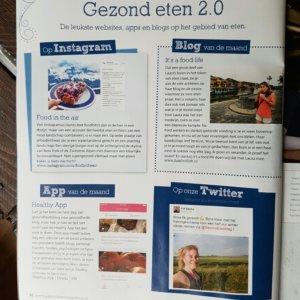 Blog van de maand in Gezond Eten Magazine - It's a Food Life