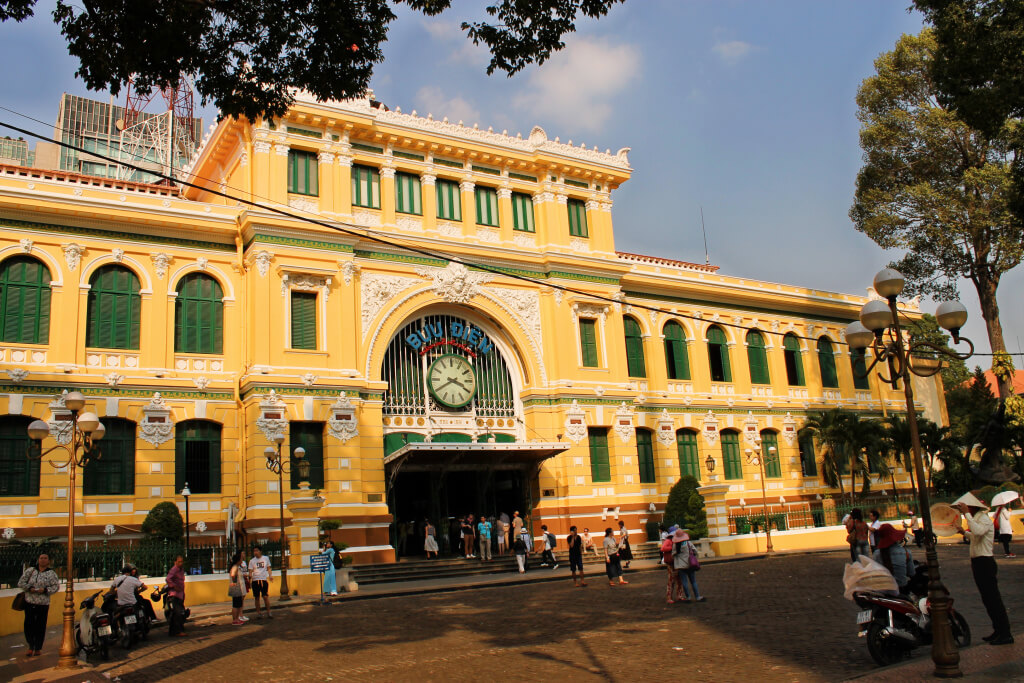 Central Post Office in HCMC, Vietnam - It's a Food Life