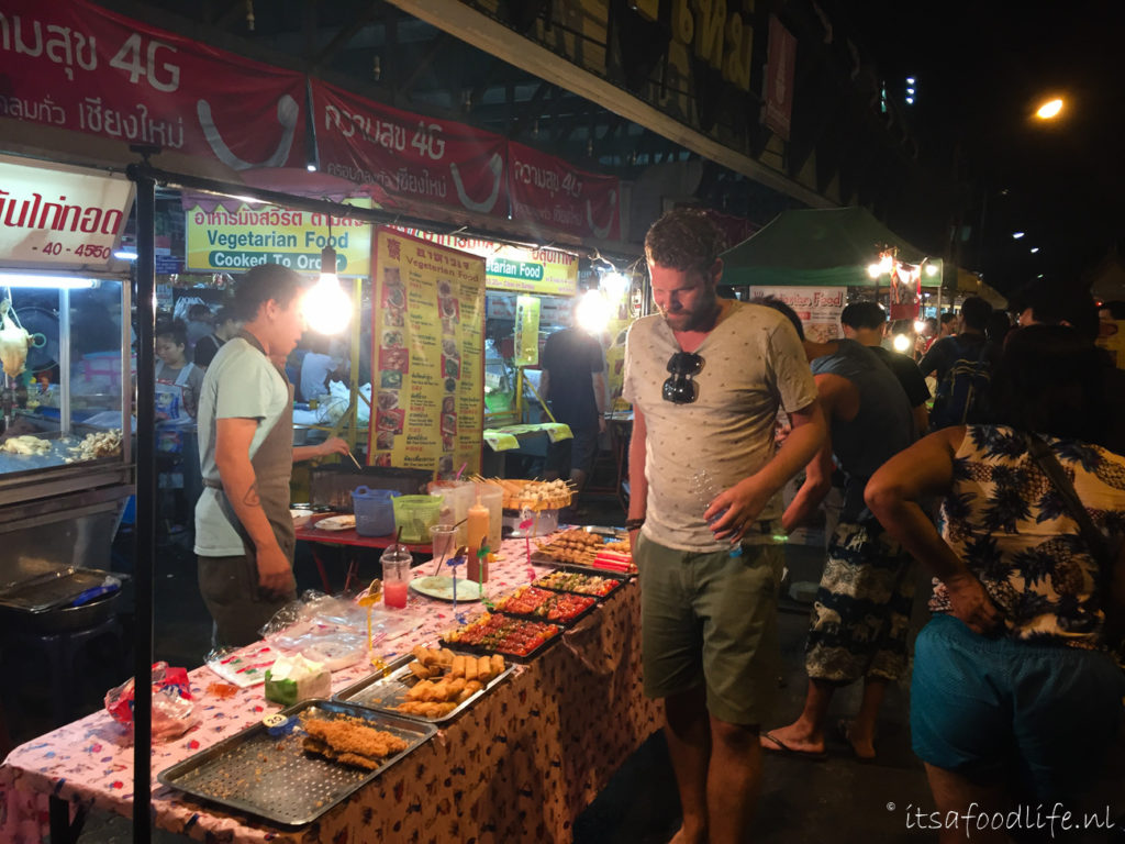 Sunday Walking Street Chiang Mai, Thailand | It's a Food Life