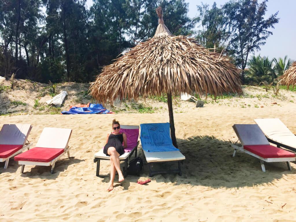 Chillen op het strand in Hoi An, Vietnam - It's a Food Life