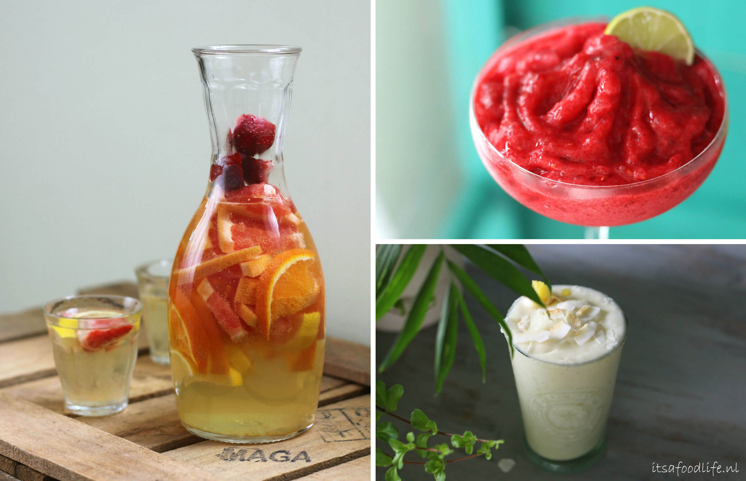 3 zomerse cocktails | It's a Food life
