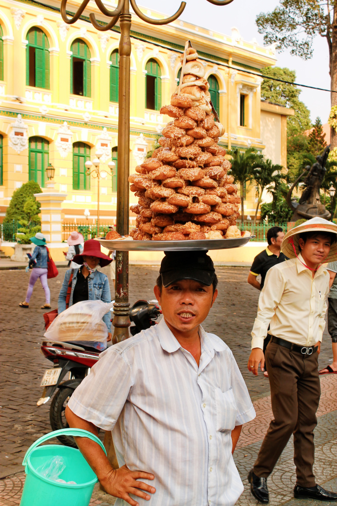 Donuts in Ho Chi Minh City Vietnam - It's a Food Life