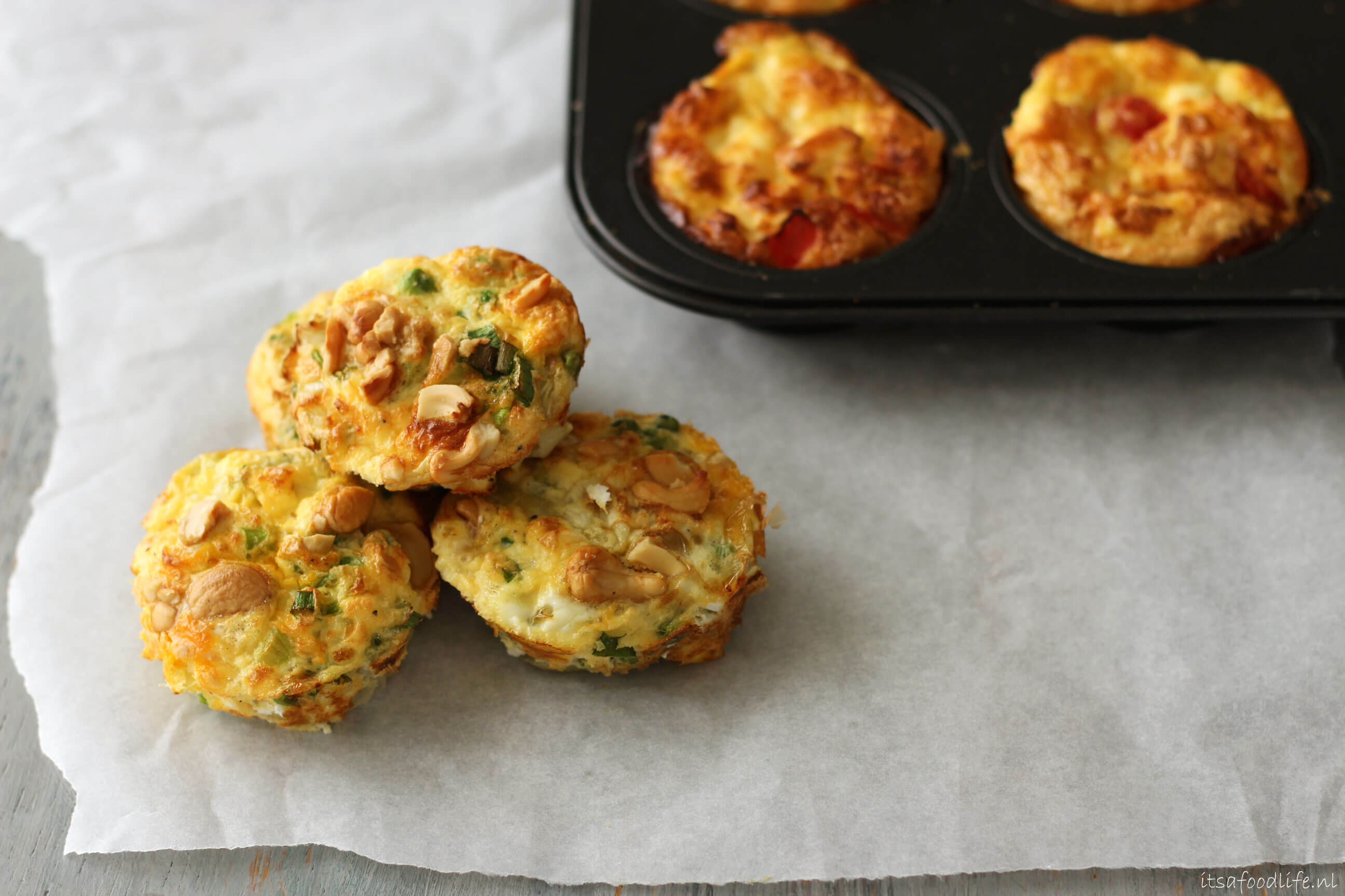 mini frittata's | It's a Food Life
