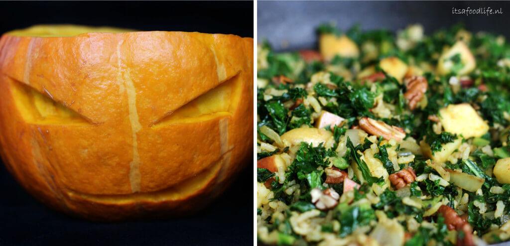 Gevulde halloween pompoen | It's a Food Life