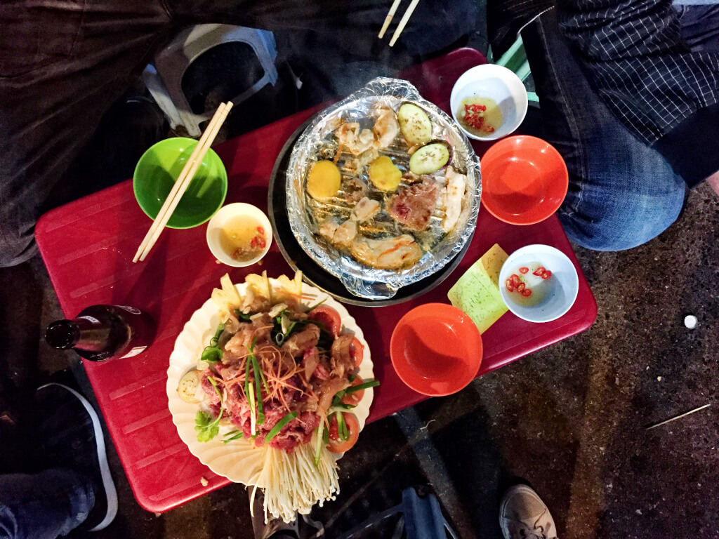 Good food in Hanoi - Vietnam