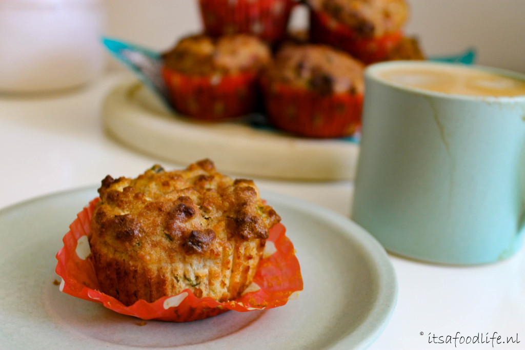 Groente muffins - healthy tussendoortje   It's a Food Life