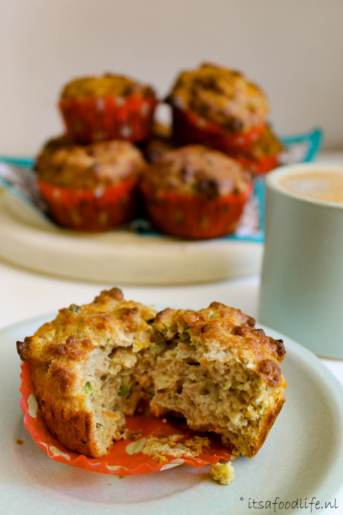 Groente muffins - healthy tussendoortje | It's a Food Life