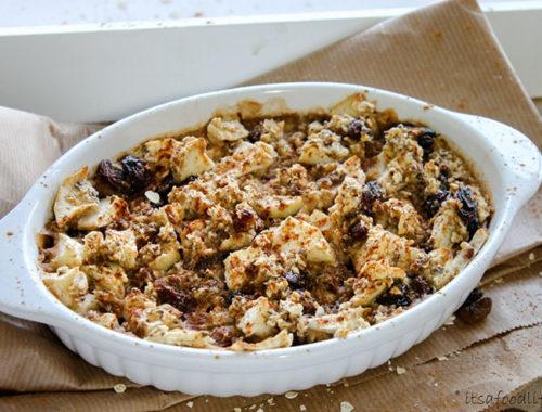 Recept voor Havermout appeltaartje uit de oven | It's a Food Life