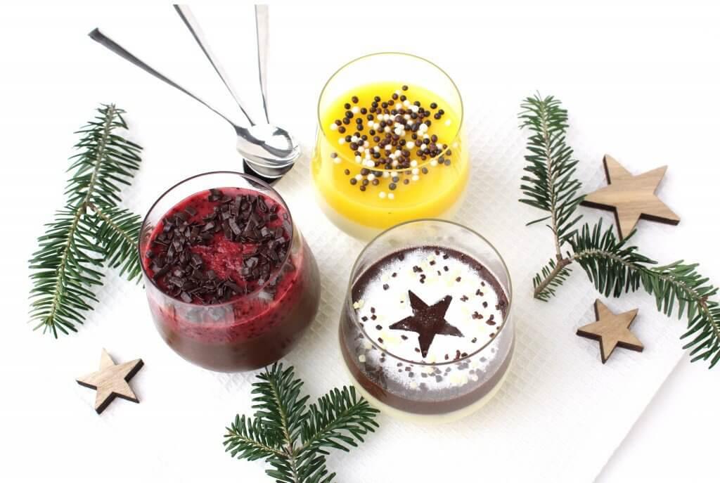 Kerst inspiratie: kerstdessert drie soorten panna cotta van Ashley Willems n | It's a Food Life