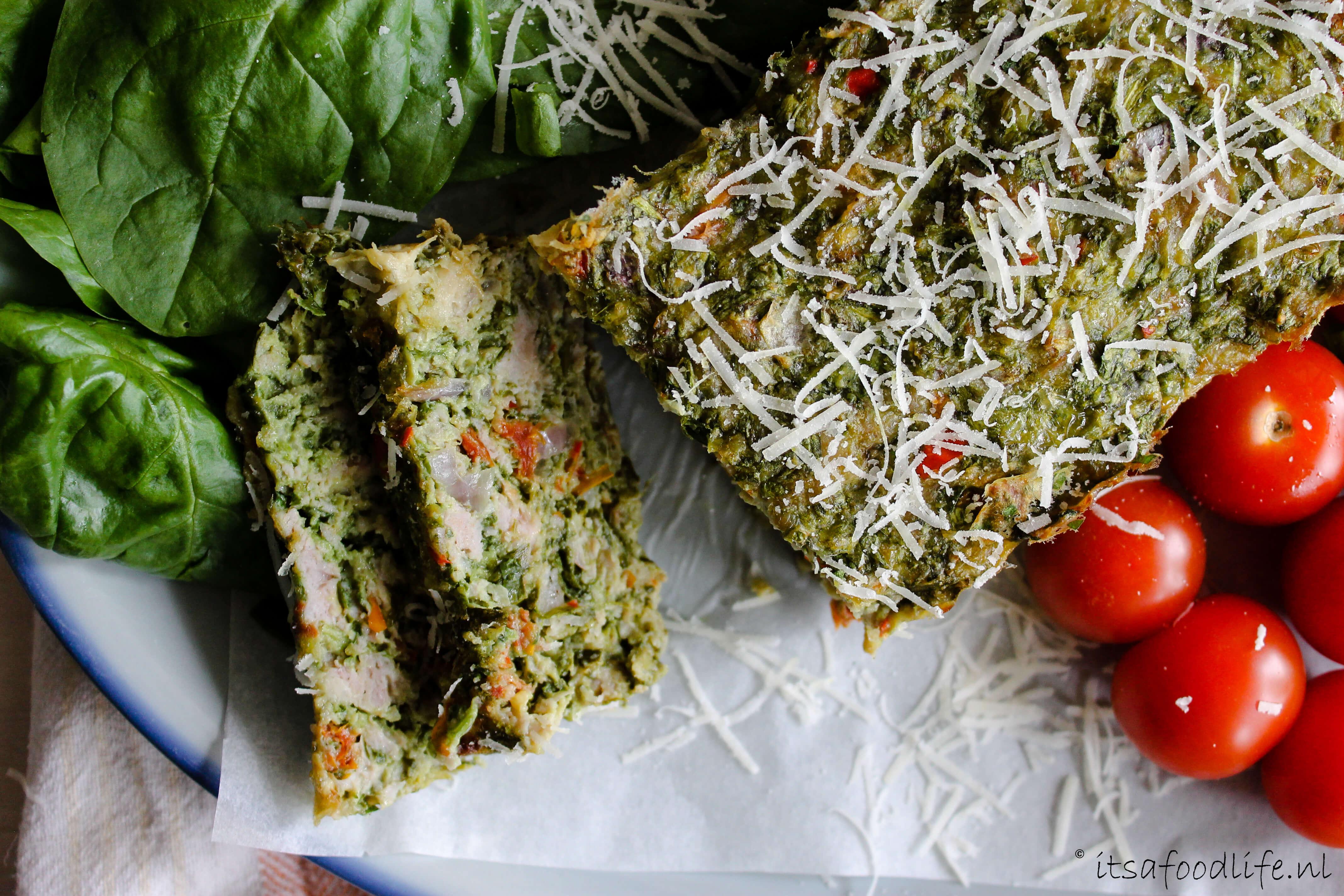Italiaans kipgehaktbrood. Zelf gehaktbrood maken | It's a Food Life
