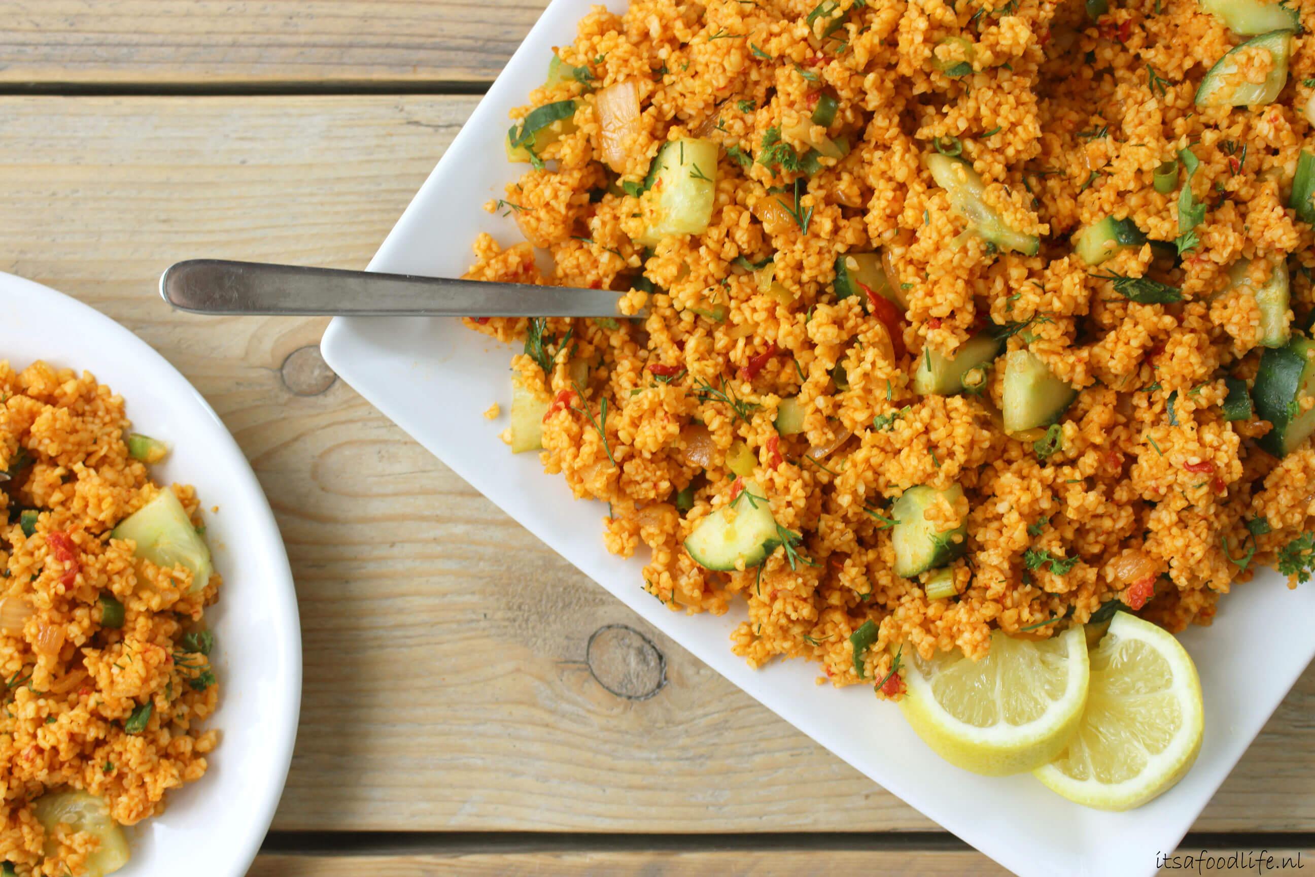 Kisir salade voor bij de BBQ | It's a Food Life