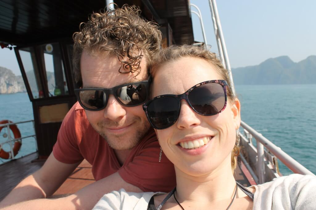 Liefde op een boot - Halong Bay, Vietnam - It's a Food Life