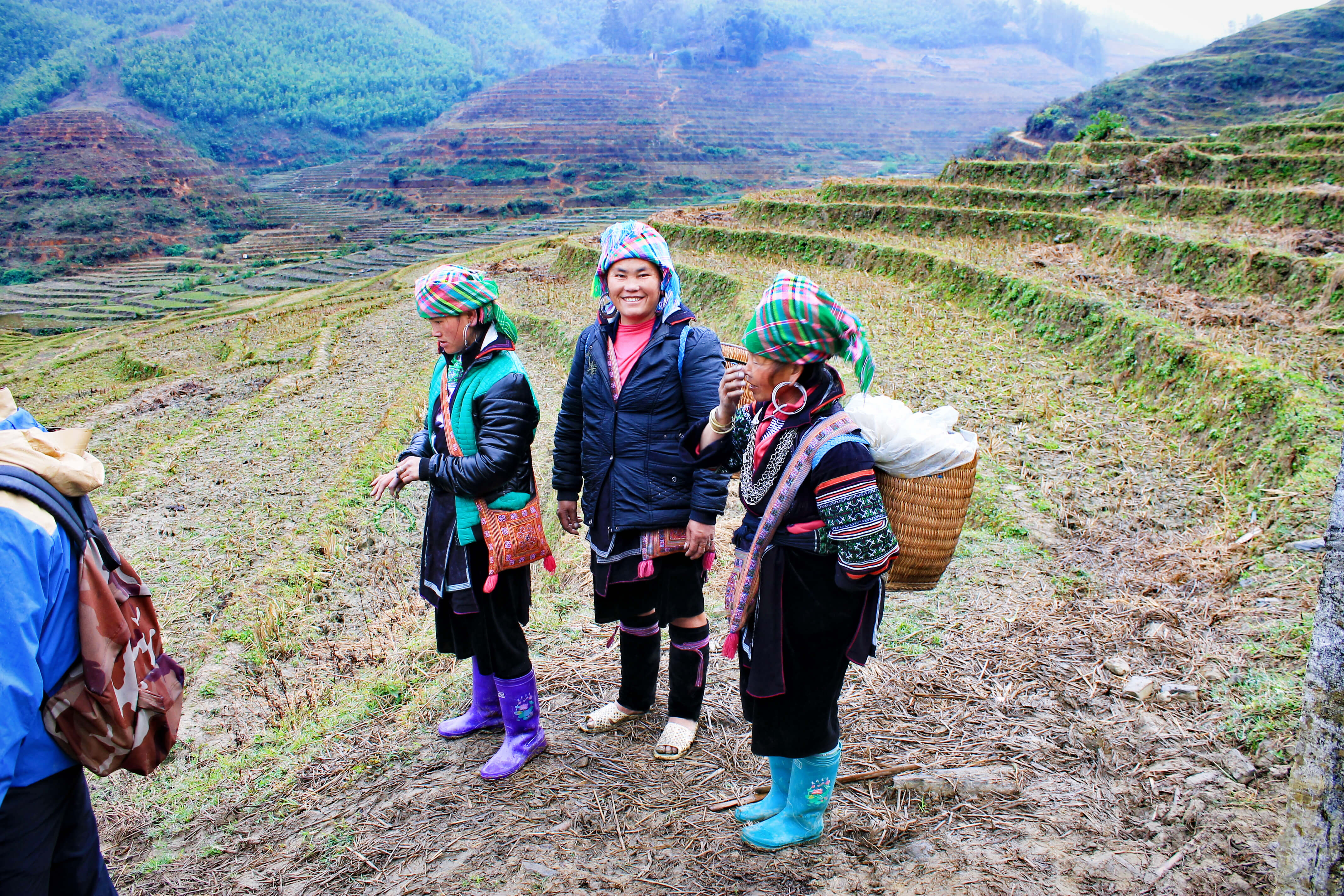 Locals in SaPa, Vietnam - It's a Food Life