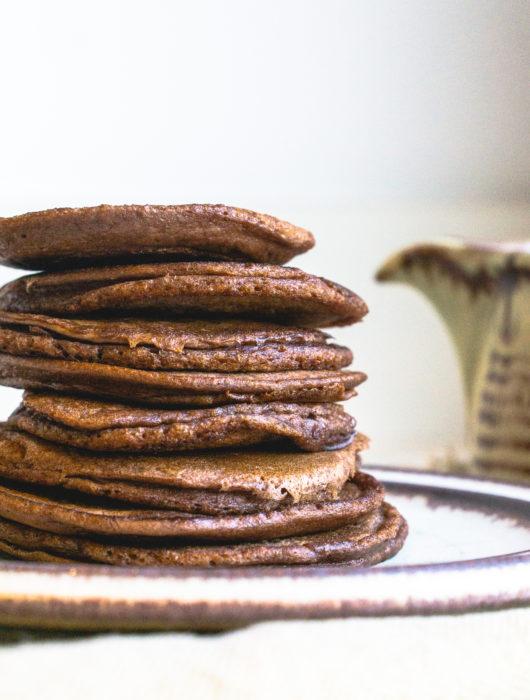 Makkelijke chocolade pannenkoekjes - It's a food life