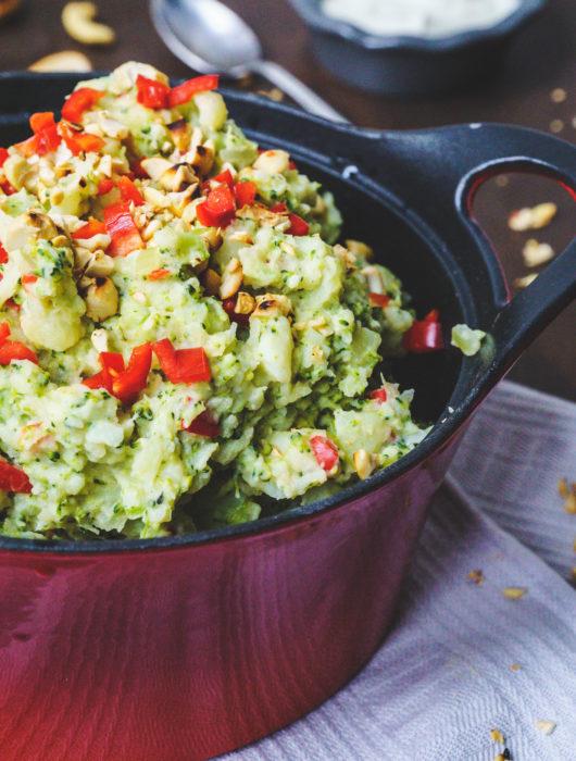Makkelijke stamppot met broccoli en yoghurt - It's a food life