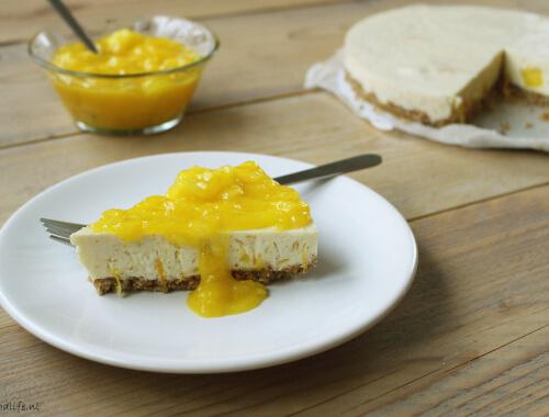 Ontbijt Mango kwarktaart met agar agar   It's a Food Life