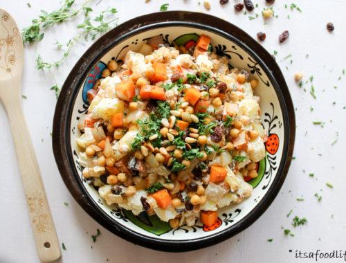Marokkaanse aardappelsalade (voor bij de BBQ) | It's a Food Life