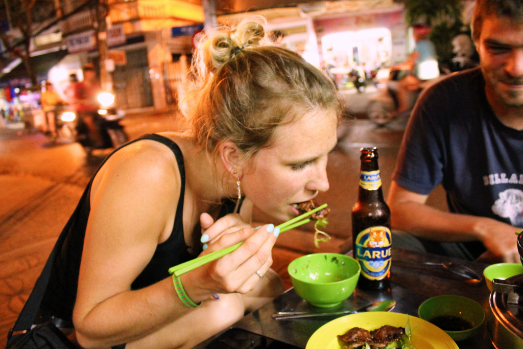 Muis eten in Can Tho, Vietnam - It's a Food Life