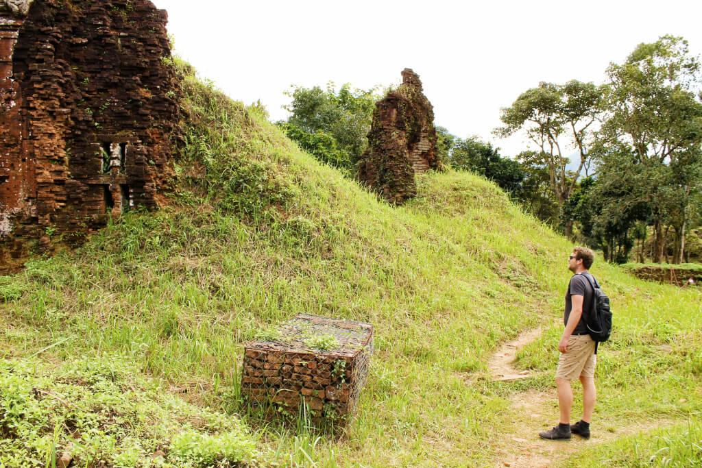 My Son Tempels bij Hoi An, Vietnam - It's a Food Life
