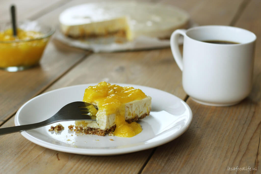 Ontbijt Mango kwarktaart | It's a Food Life