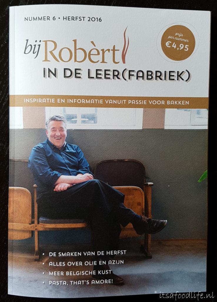 Tijdschrift Bij Robért in de leerfabriek | It's a Food Life