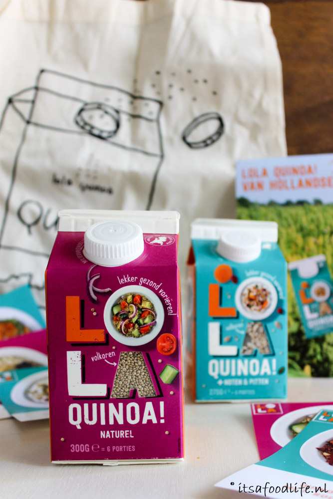 Quinoa is gezond + Lola Quinoa winactie | It's a Food Life