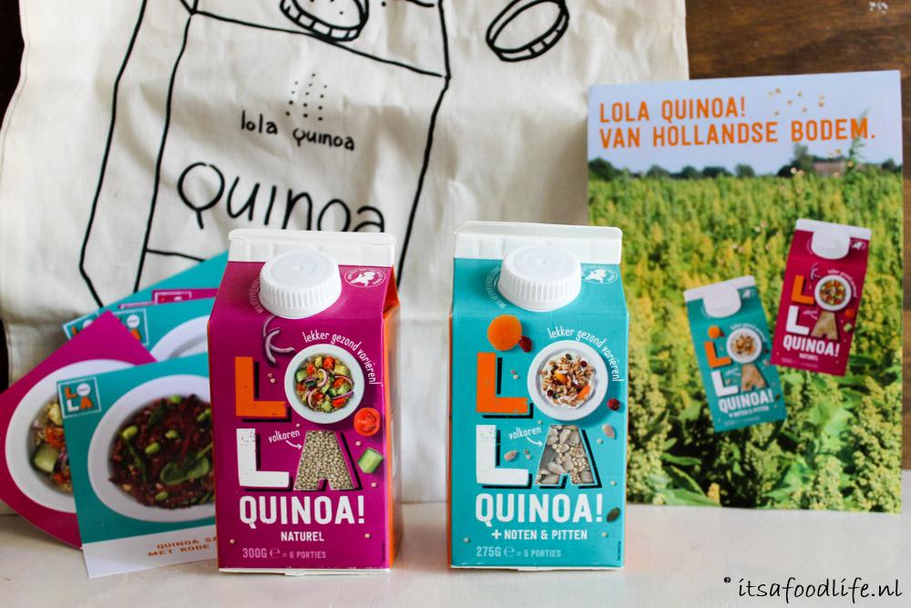Quinoa is gezond + Lola Quinoa winactie | It's a Food Life