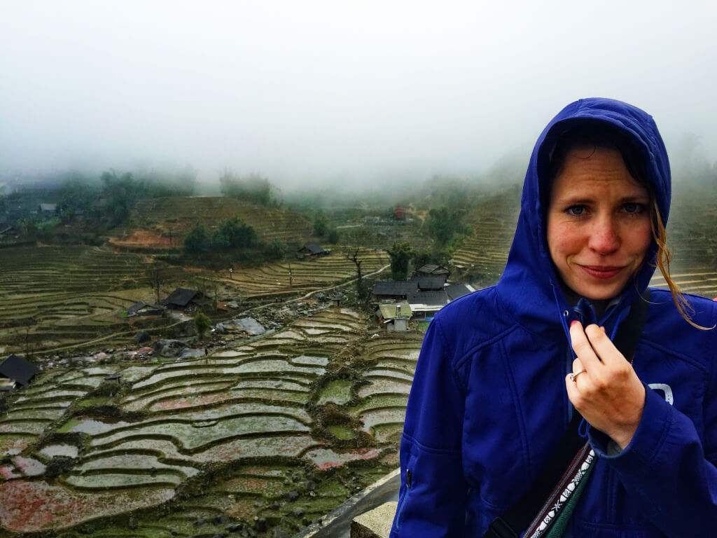 Rainy and wet in SaPa, Vietnam - It's a Food Life