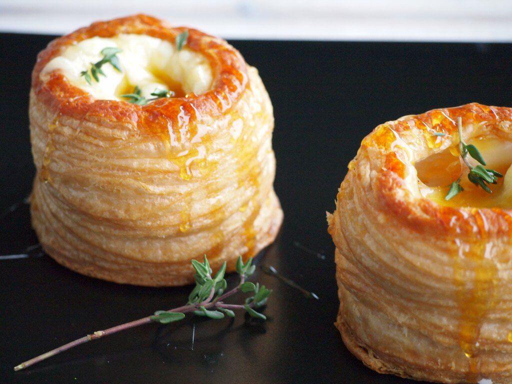 Pasteibakjes met Brie, Honing en Tijm van Flying Food foodie | It's a Food Lif