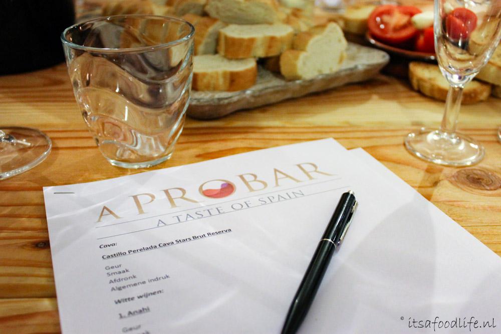 Review verslag van Wijnproeverij bij aProbar in de Bilt | It's a Food Life