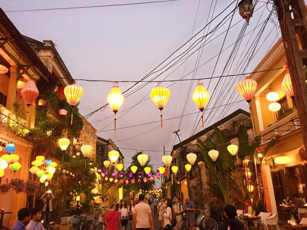 Romantisch Hoi An, Vietnam - It's a Food Life