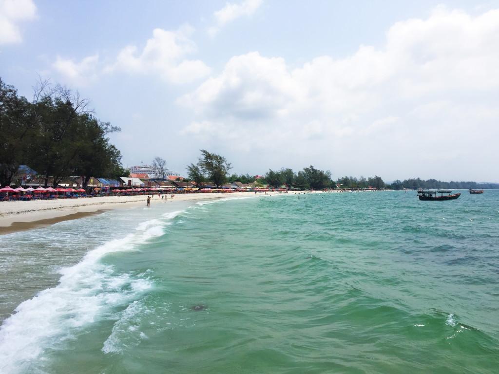 Sihanoukville beach, Cambodja - I'ts a Food Life