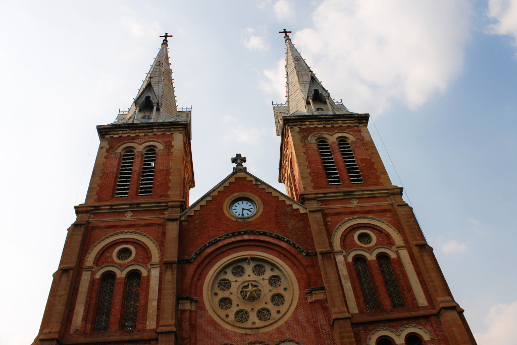 The Cathedral in HCMC, Vietnam - It's a Food Life