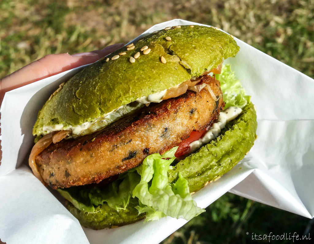 The dutch weed burger. zeewier is gezond | It's a Food Life