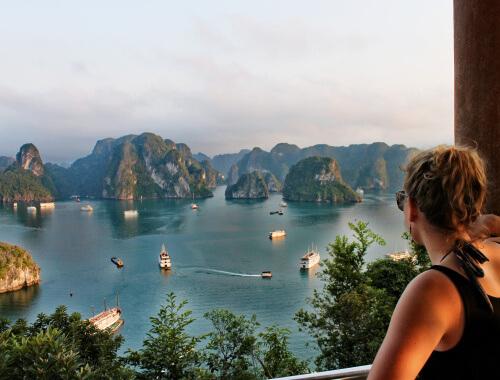 Ti Top Island in Halong Bay, Vietnam