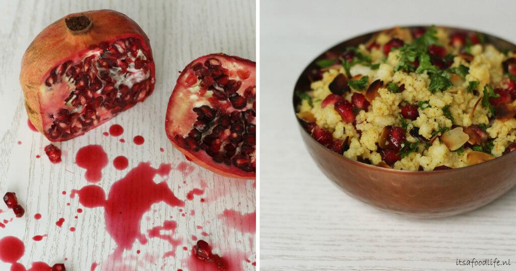 Vega kerst tajine, met kerstige naanbroodjes en fruitige couscous | It's a Food Life