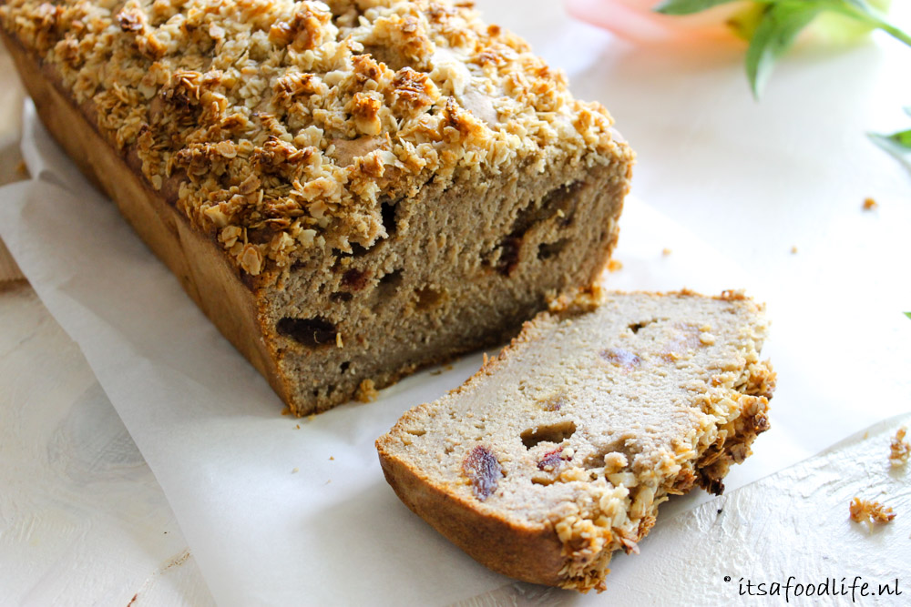 Bananenbrood met honing | It's a Food Life