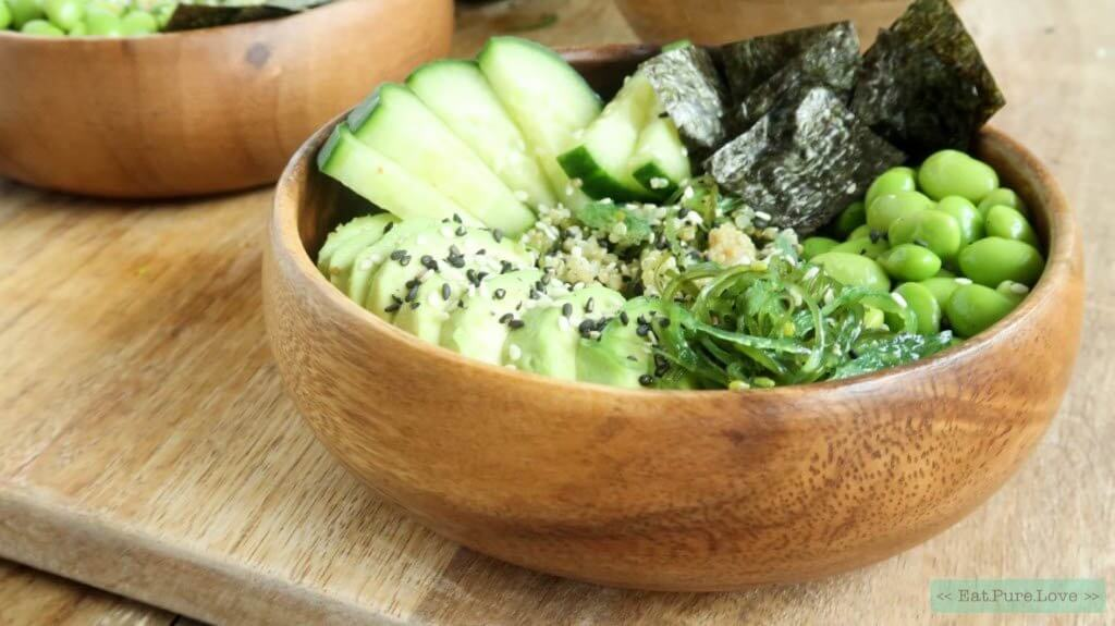 Vegetarische sushi bowl met avocado van Culinea | It's a Food Life