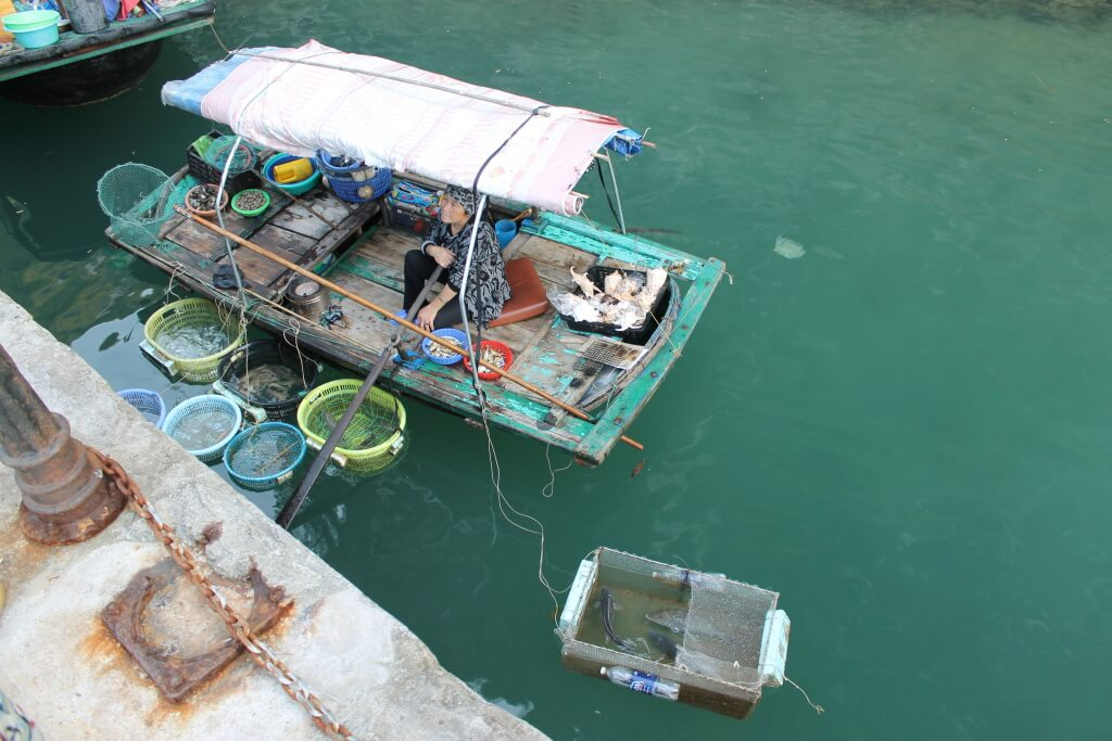 Vissers vrouwtje - Halong Bay, Vietnam - It's a Food Life