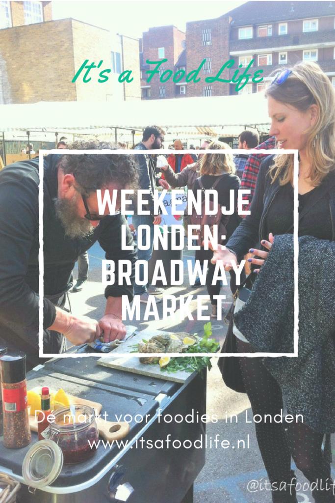 Weekendje londen Broadway Market