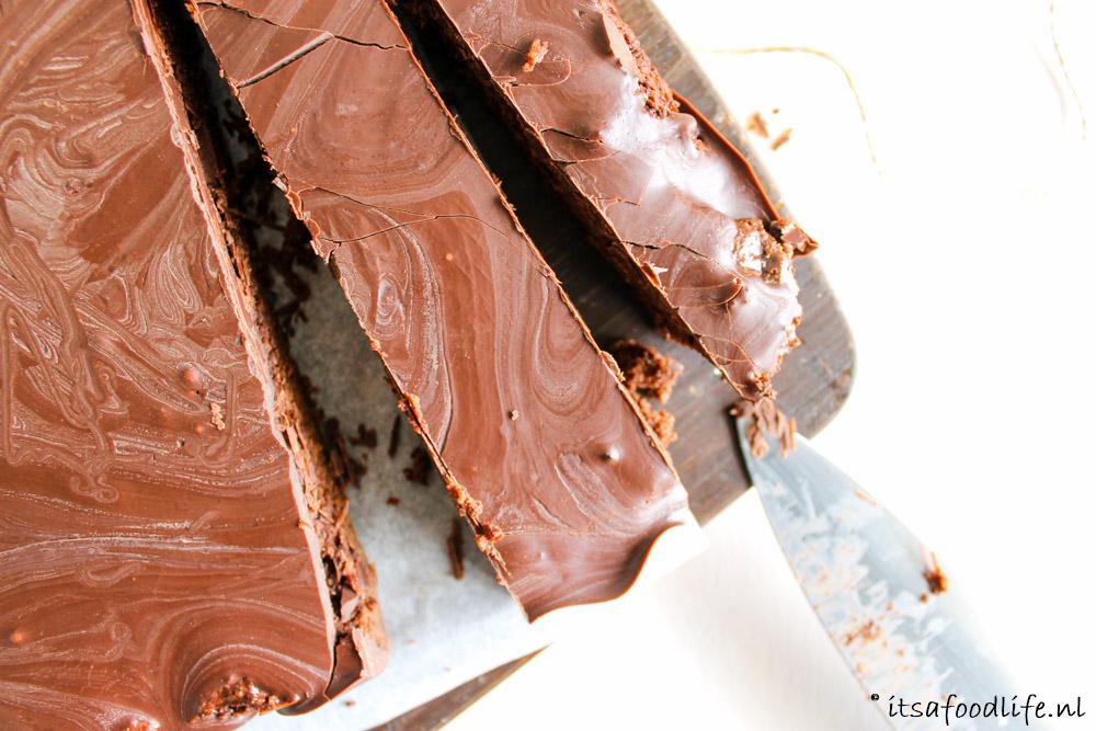 Recept voor Zoete aardappel brownies met chocolade fudge | It's a Food Life