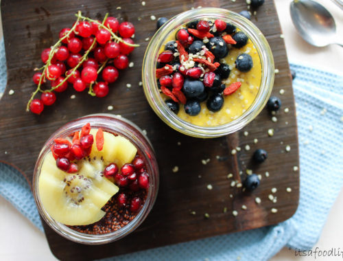 chiazaadpudding ontbijt met fruit | It's a Food Life
