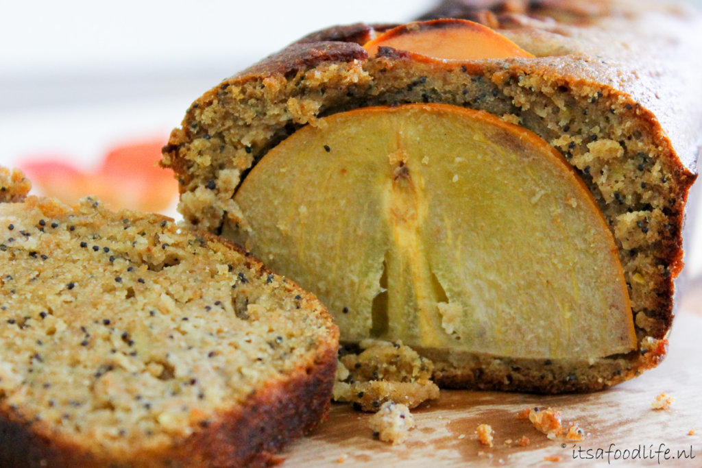 Recept voor citroen cake met kaki fruit | It's a Food Life